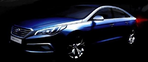 Hyundai Sonata Teaser Pic