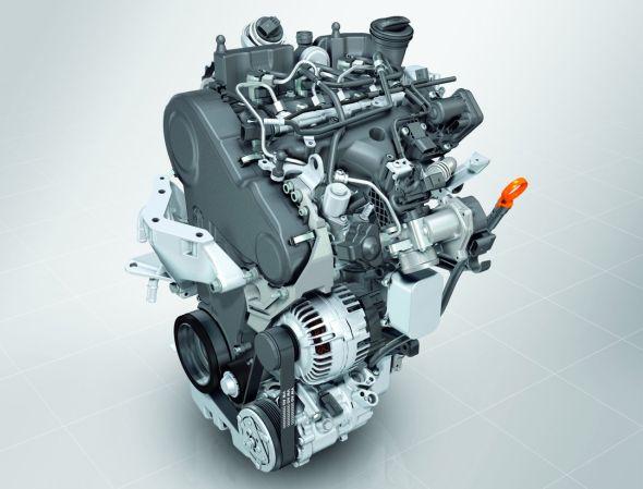 Volkswagen 1.4 Liter - 3 Cylinder TDI Turbo Diesel Engine Pic