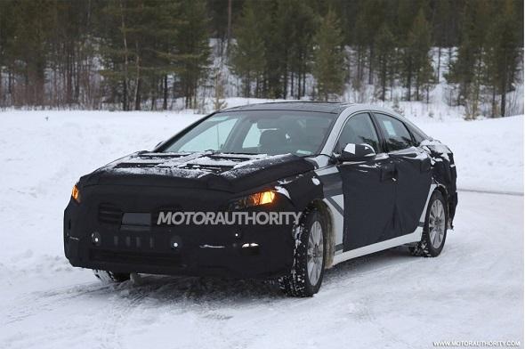 Next-Gen Hyundai Sonata Spyshot Image