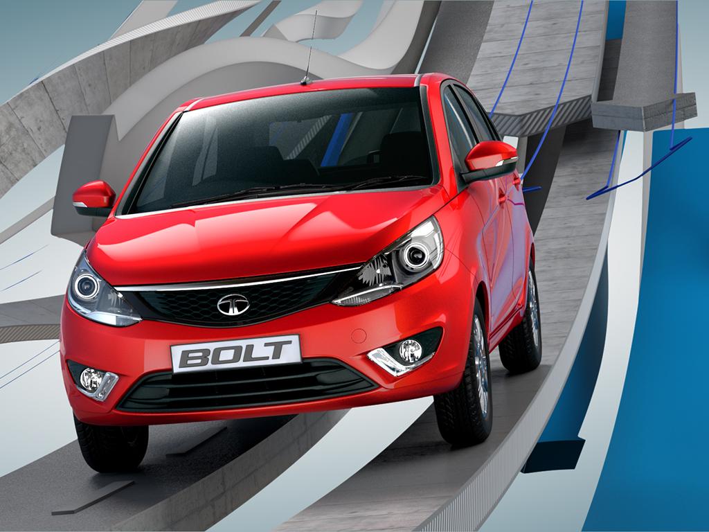 Tata Bolt Hatchback – Uncamouflaged version spotted testing at Pune