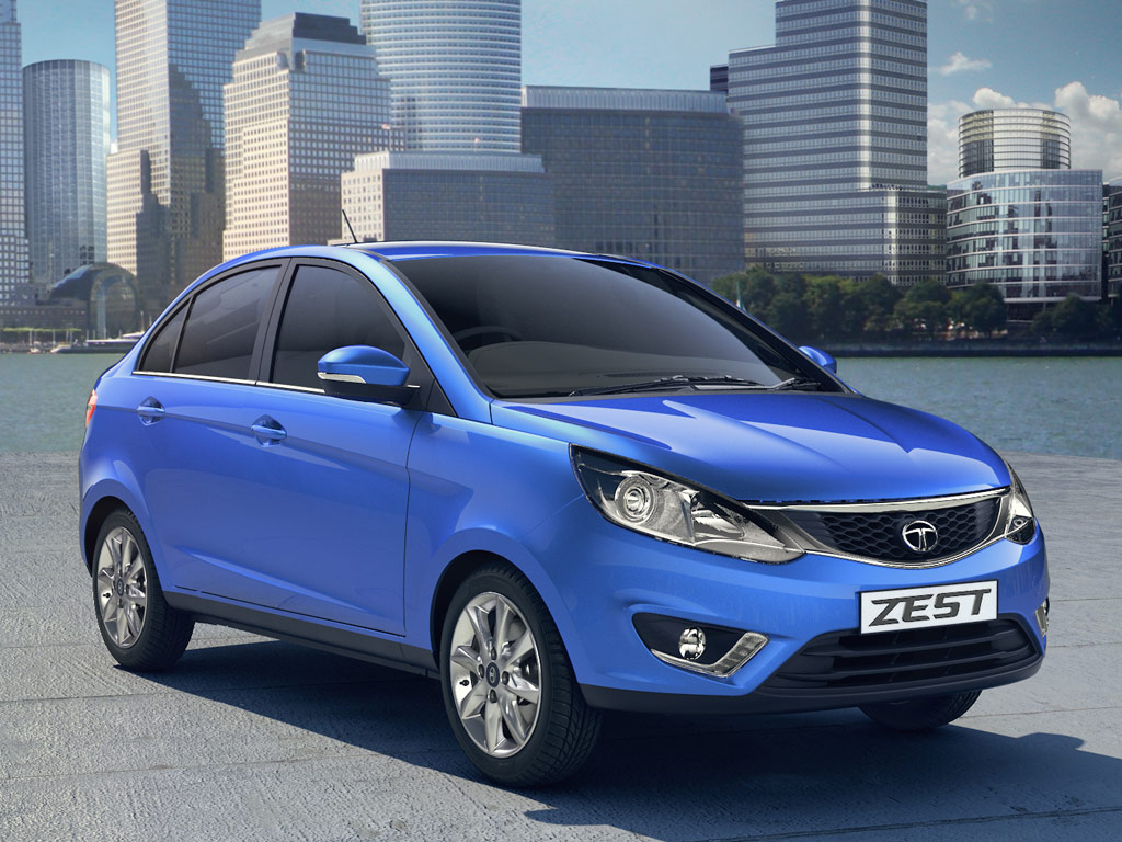 2014 Tata Zest Compact Sedan Image