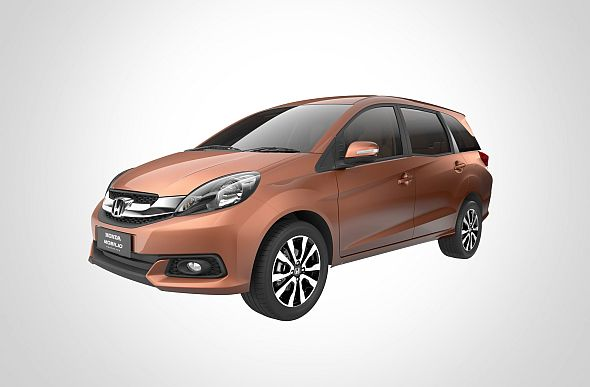 Honda begins official web promotions the Mobilio MPV in India