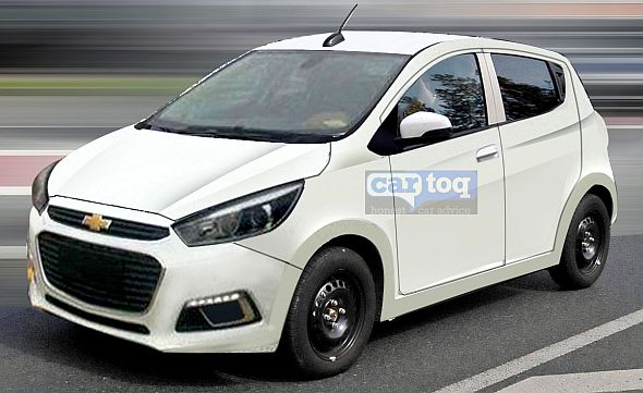 Speculative render of the 2015 Chevrolet Beat Hatchback Image