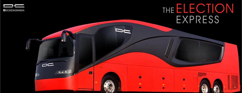 DC Design's Election Express Custom Bus Image