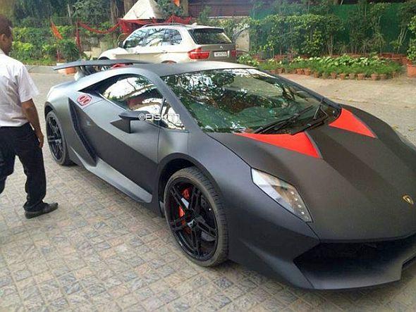 Dilip Chhabria Builds A Lamborghini Sesto Elemento Replica Based On