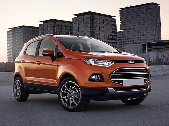 Ford EcoSport with Daytime Running LEDs Image