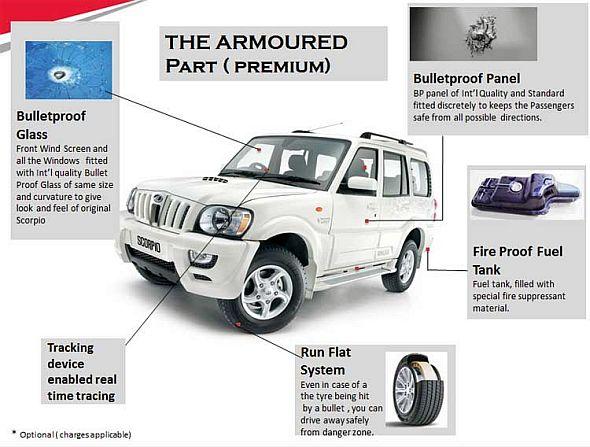 Mahindra & Mahindra will bullet proof your Scorpio SUV for 16.07 lakh rupees
