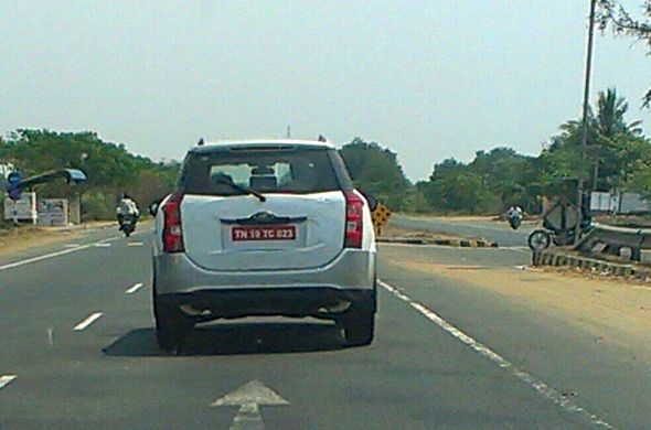 Mahindra XUV500 Crossover Test Mule Image