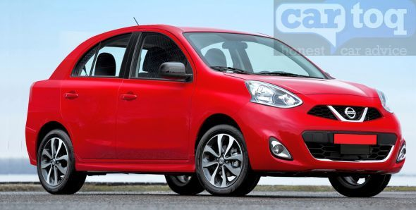 CarToq's speculative render of the Nissan Micra based compact sedan pic