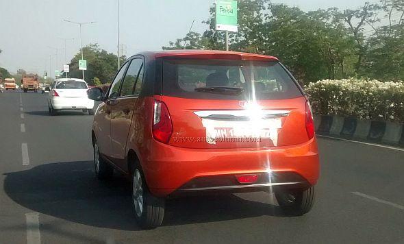 Tata Bolt B+ Segment Hatchback Spyshot Image