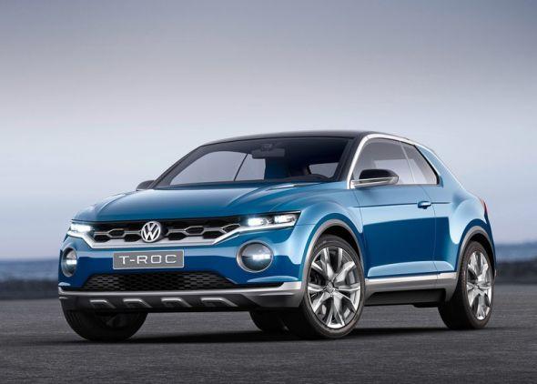 Volkswagen T-ROC SUV Concept Pic