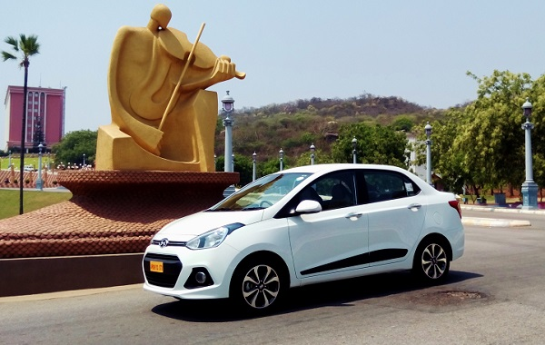 hyundai xcent video review