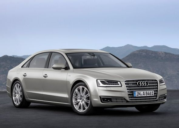Audi A8L Luxury Saloon Pic