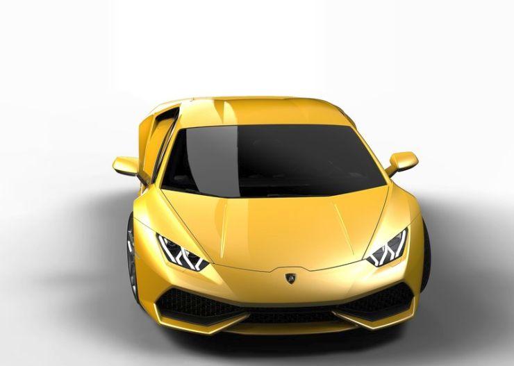 2014 Lamborghini Huracan Supercar 5