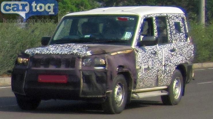 2014 Mahindra Scorpio Suv Facelift Latest Spyshots