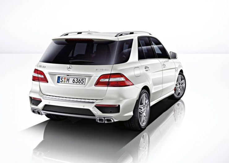 Mercedes benz ml63 amg suv launched in india at a price of for Mercedes benz suv india