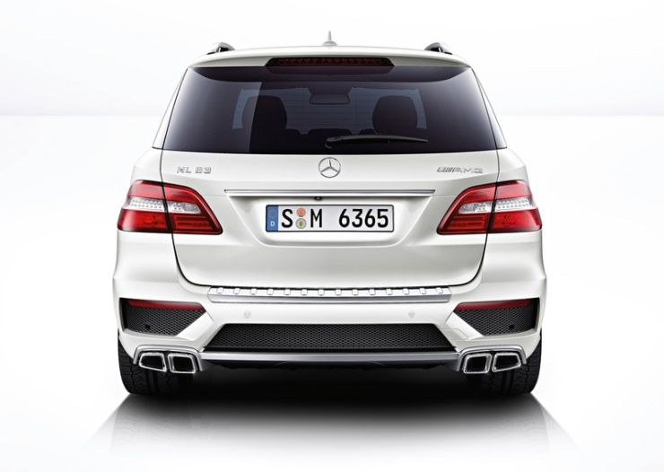 Mercedes Benz ML63 AMG SUV launched in India at a price of ...