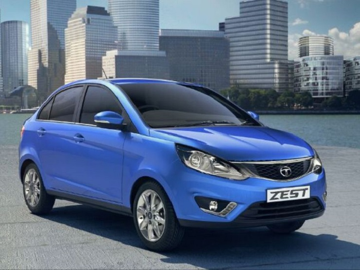 2014-Tata-Zest-Front view