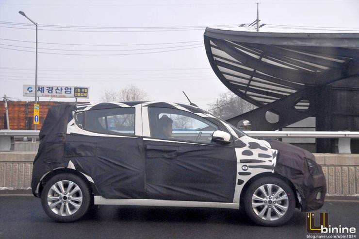 2015 Chevrolet Beat Hatchback Spyshot Pic