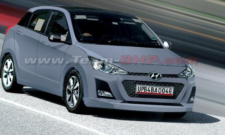 Hyundais All New 2015 I20 Could Co Exist With Current Generation Hatchback