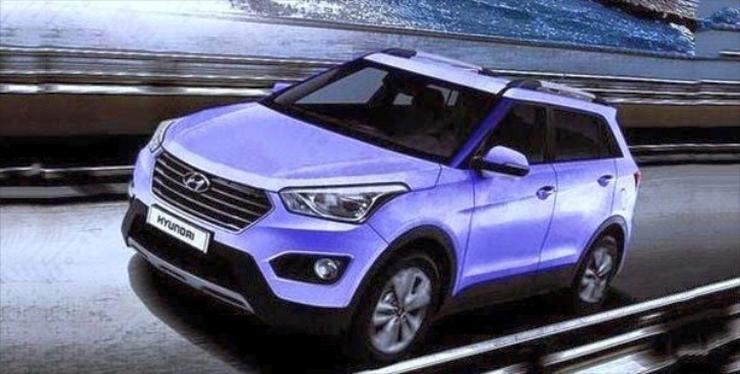 India bound 2015 Hyundai iX25 Compact SUV – New Details and Spyshots