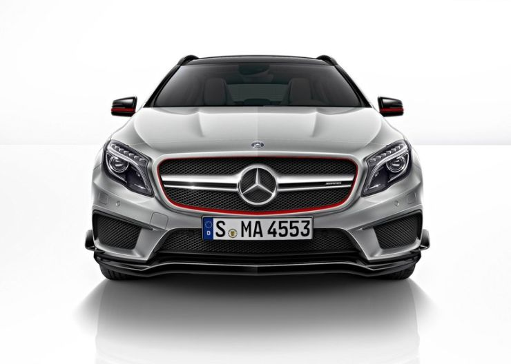 October 27th launch for the Mercedes Benz GLA 45 AMG high ...