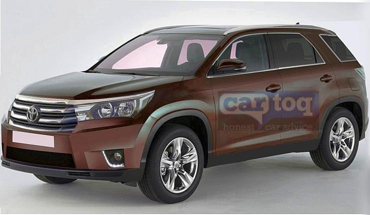 Cartoq Renders The India Bound Next Generation 2015 Toyota Fortuner Suv