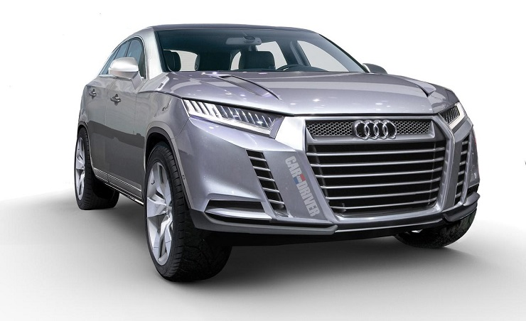 Audi Q8 Luxury Crossover Render Pic