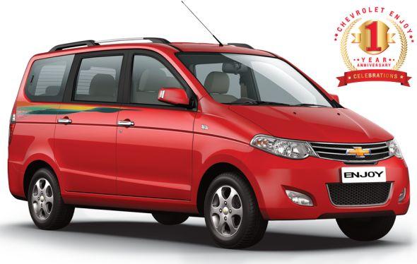 2014 Chevrolet Enjoy Anniversary Edition MPV Image