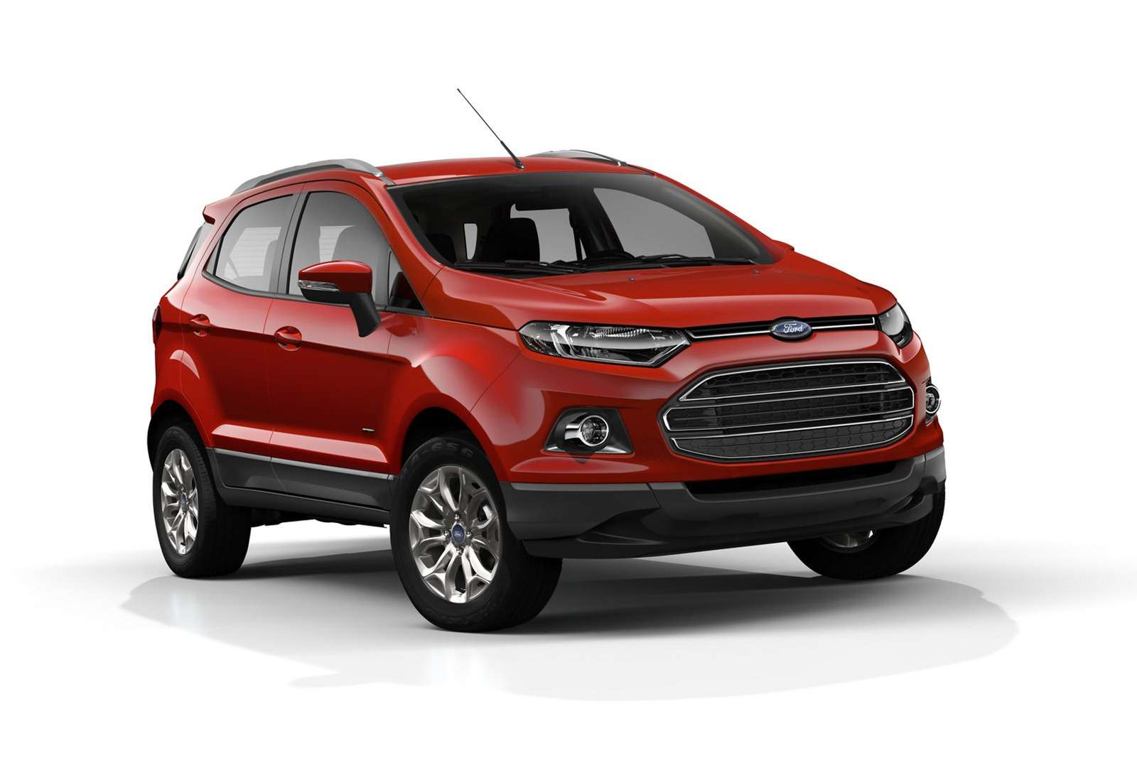 Ford EcoSport spotted testing with a new tail gate in Europe