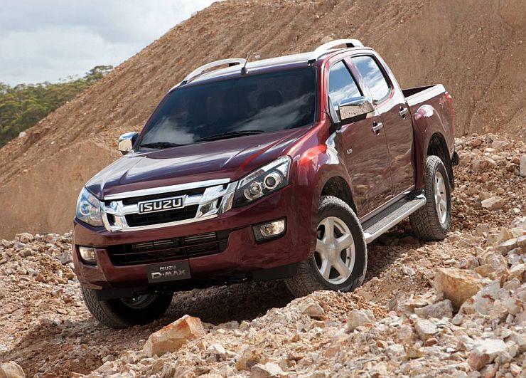 Isuzu D-Max Pick Up Truck Pic