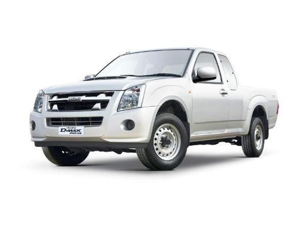 Isuzu D-Max Space Cab Pick Up Truck Picture
