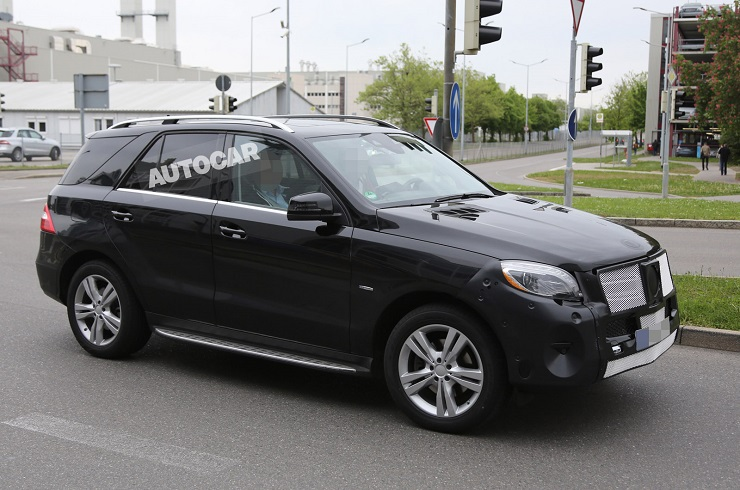 2015 Mercedes Benz M-Class SUV Facelift Image