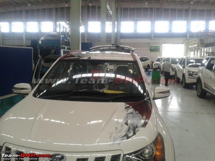 Mahindra XUV500 Sportz Edition Crossover Image