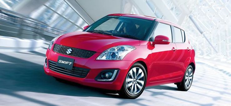 2014 Maruti Suzuki Swift Facelift Pic