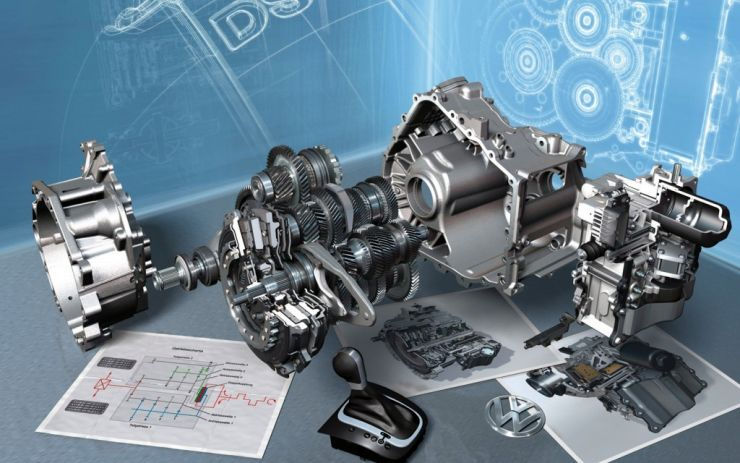 Volkswagen DSG Dual Clutch Automatic Gearbox Pic