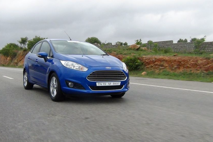 2014 Ford Fiesta Facelift Sedan 3