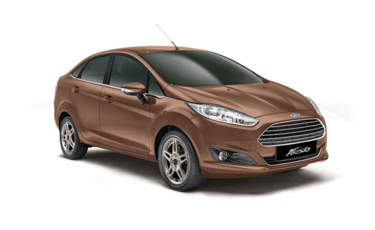 2014 Ford Fiesta Sedan Facelift – Images and Details