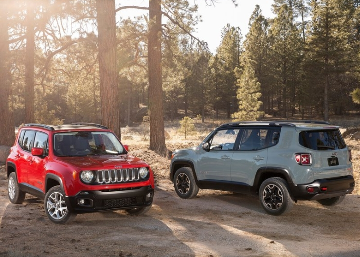 Jeep Renegade Compact SUV Picture