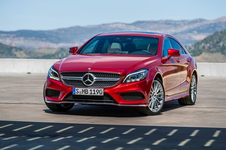 India-bound facelifted 2015 Mercedes CLS Coupe revealed