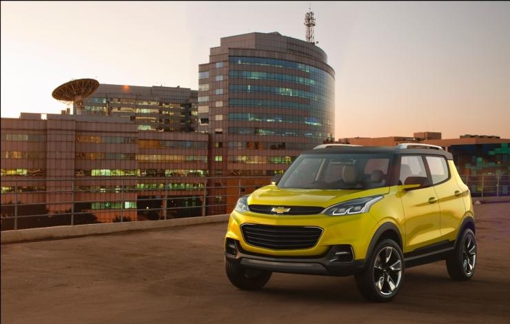 Chevrolet Adra Compact SUV Concept Pic