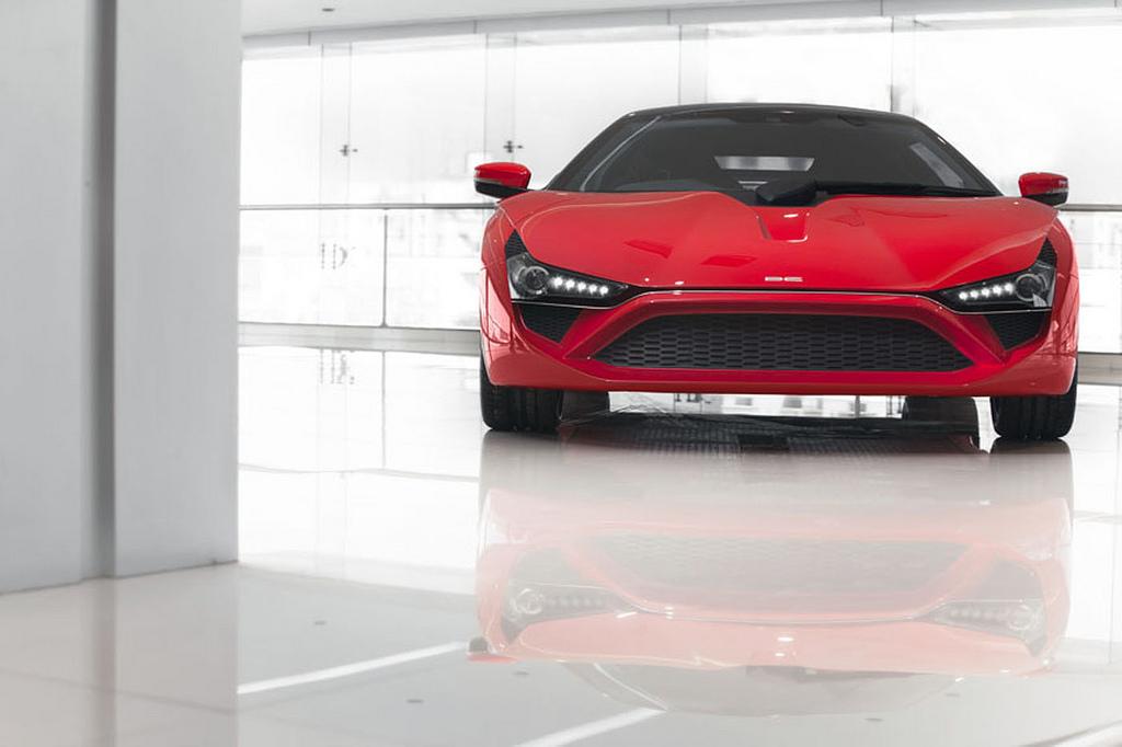 Avanti sportscar spotted at DC Design's Talegaon factory