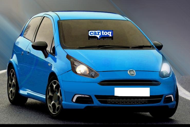 CarToq's speculative render of the 2014 Fiat Grande Punto Hatchback Facelift Image