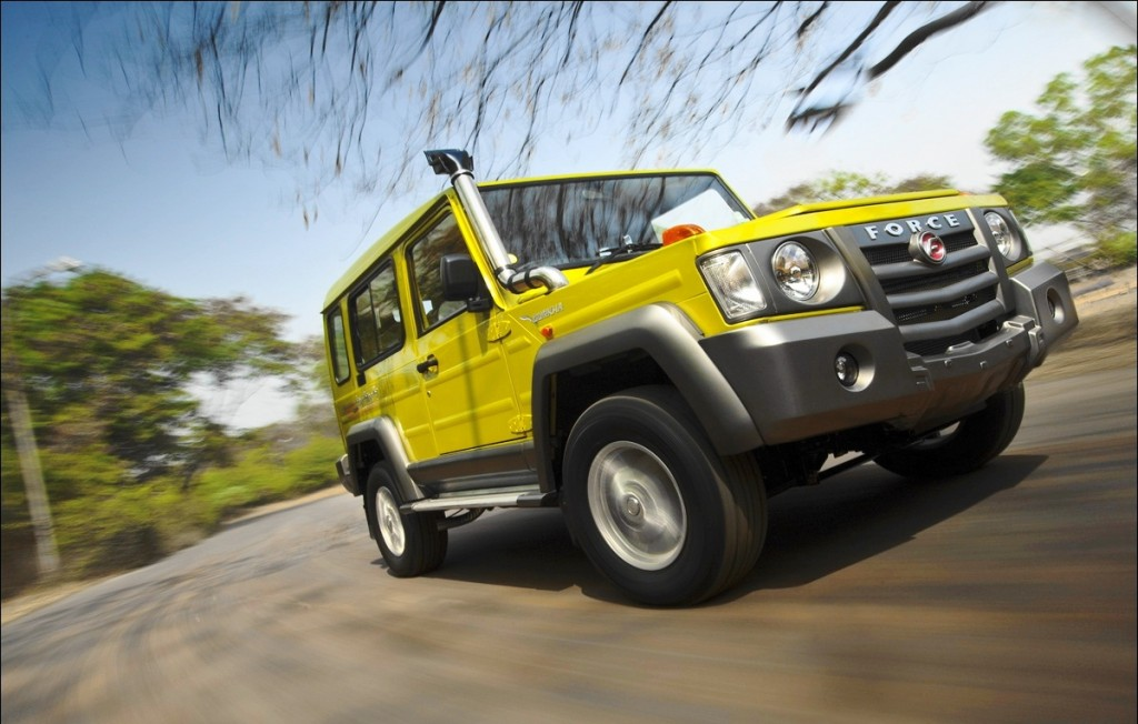 Force Gurkha 4X4 SUV 3
