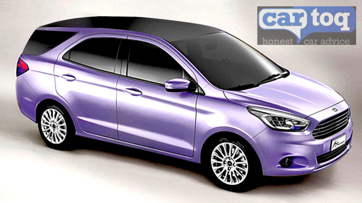 2016 Ford Figo-based MPV Render Pic