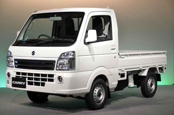 Suzuki Carry Mini Pick Up Truck Picture