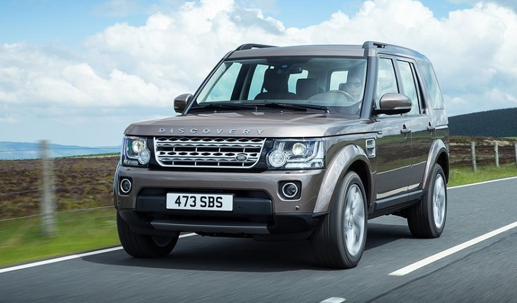2015 Land Rover Discovery SUV breaks cover