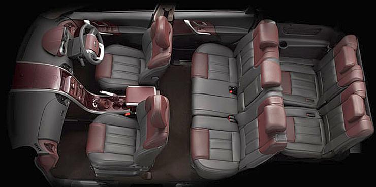 Mahindra XUV500 Crossover Interiors