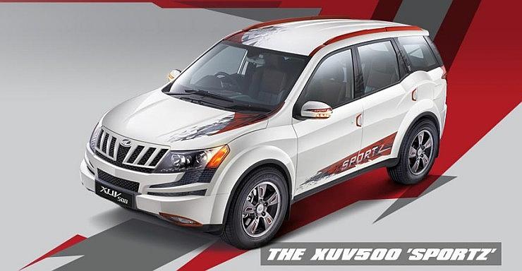 Mahindra XUV500 Sportz Edition Pic