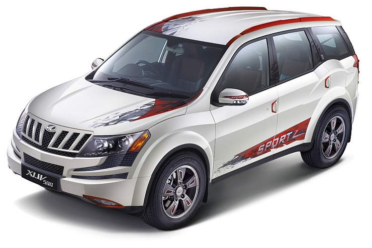 Mahindra XUV500 Sportz Limited Edition SUV launched